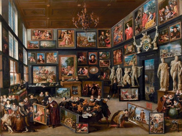 Willem van Haecht - The_Gallery_of_Cornelis_van_der_Geest