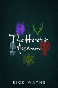 The Heretic Arcanum print cover (v.2) blank