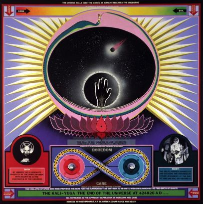 Paul Laffoley The Kali-Yuga - The End of the Universe at 424826 A.D.