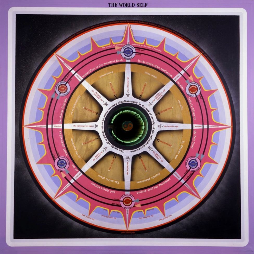 Paul Laffoley The World Self