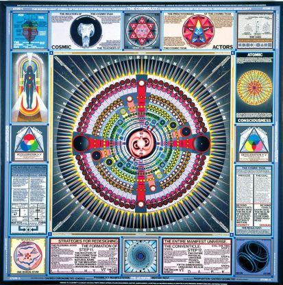 Cosmolux by Paul Laffoley (1981)