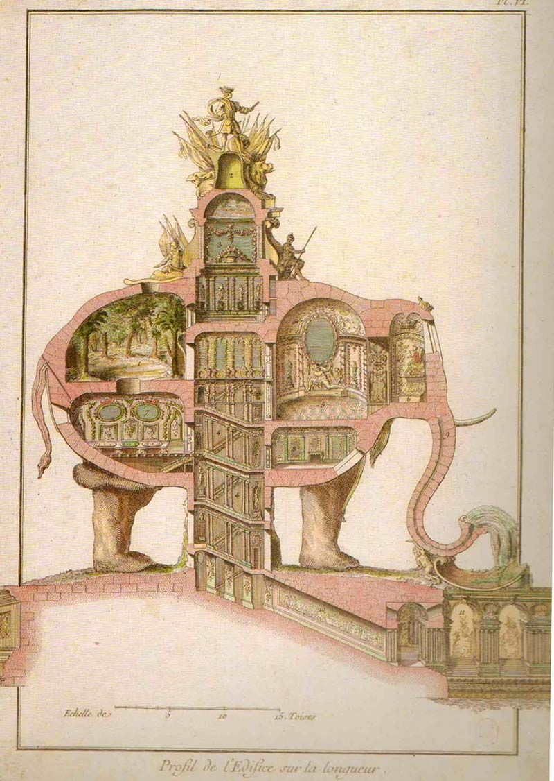 Jean-Jacques Lequeu (French, 1757-1825) Enigmatic architect4