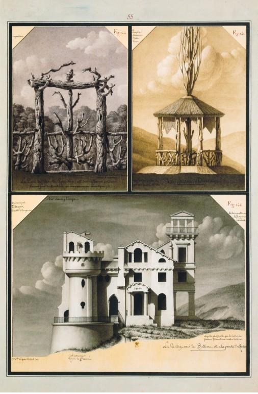 Jean-Jacques Lequeu (French, 1757-1825) Enigmatic architect6