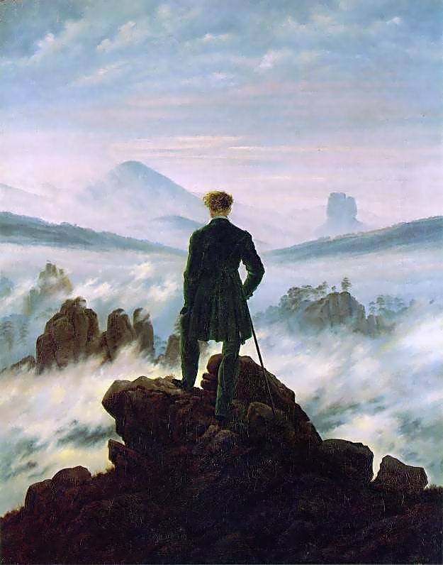 Caspar David Friedrich - wanderer_above_the_sea_of_fog