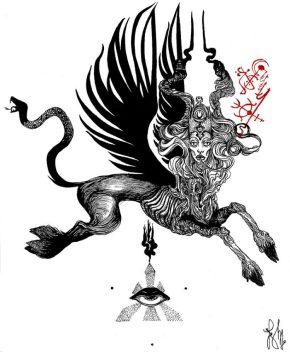 Luciana Lupe Vasconcelos Beast-of-deep-desire_O-750x912