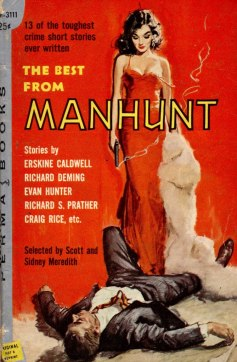 The Best from Manhunt - 1958 - illus Dernest Chiriacka-1