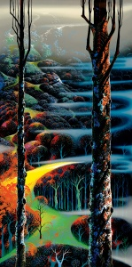 eyvind-earle a-touch-of-autumn