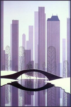 eyvind-earle-central-park-1983