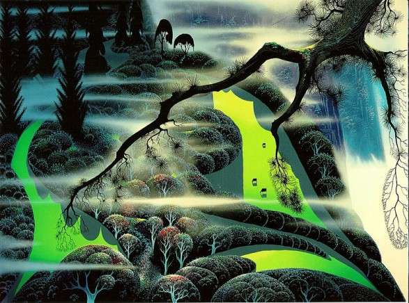 eyvind-earle green-pastures