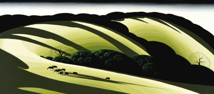 Eyvind-Earle-Publishing-Title-THE-SHADOWS-DEEPEN-OIL-2422-x-4822