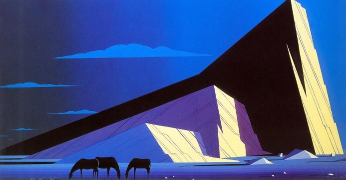 eyvind-earle three-horses-19871