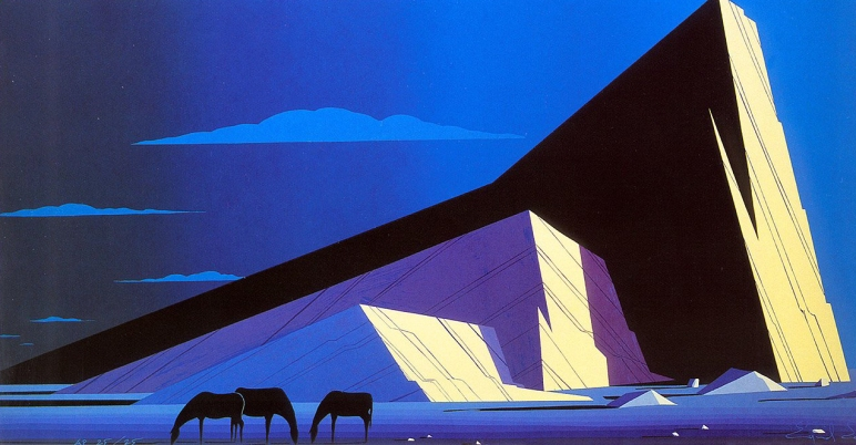 eyvind-earle three-horses-19871