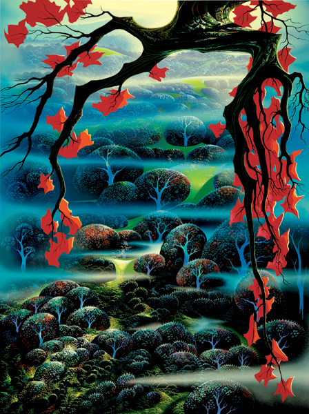 eyvind-earle valley-of-dreams