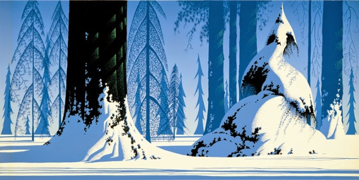 Eyvind Earle--Winter