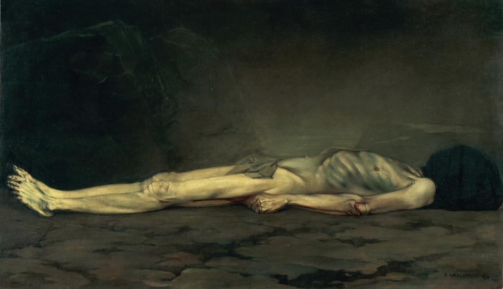 Felix Vallotton Le Cadavre