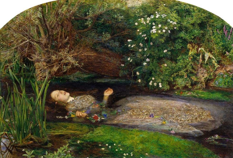 John Everett Millais - Ophelia 1852