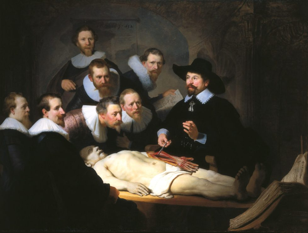 Rembrandt -The Anatomy Lesson of Dr. Tulp 1632
