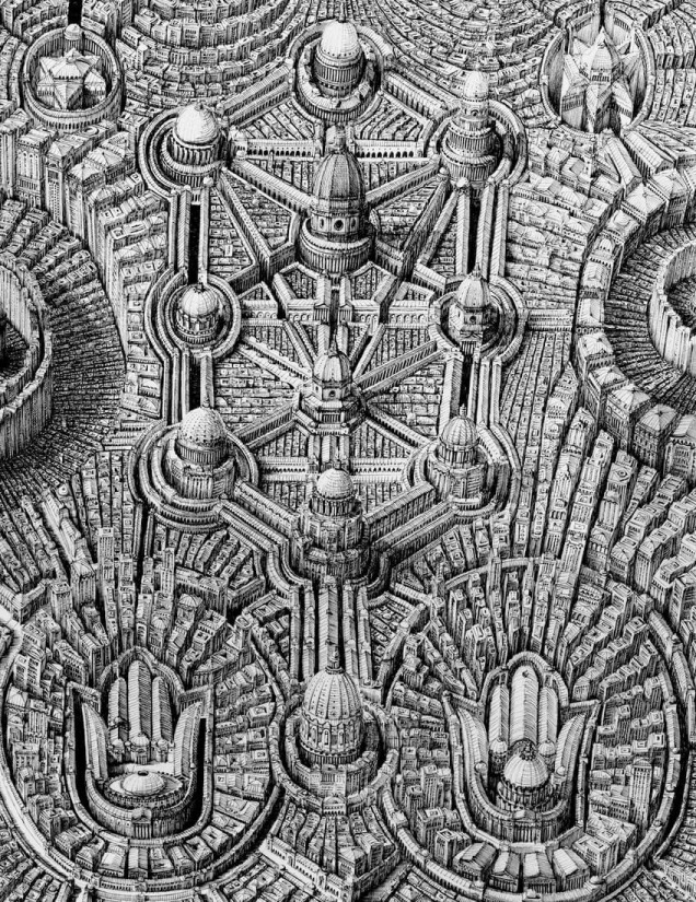 Ben Sack 02-Tree-of-Life-Super-Detailed-Architectural-Drawings-with-Video-www-designstack-co