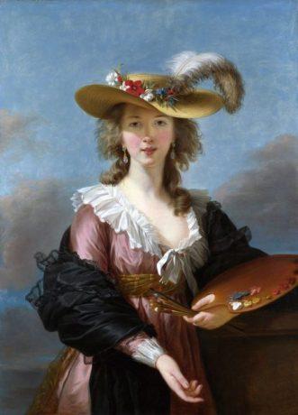 Élisabeth Louise Vigée Le Brun Self portrait of the artist