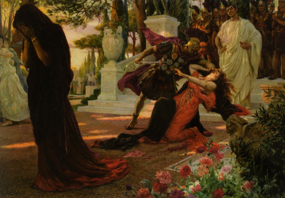 Georges-Antoine Rochegrosse's The Death of Messalina (1916)
