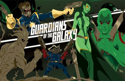 guardians_of_the_galaxy_by_mikemahle-d6zvq3e