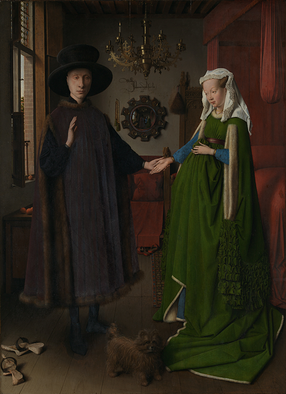 Jan Van Eyck The Arnolfini Portrait (1434)