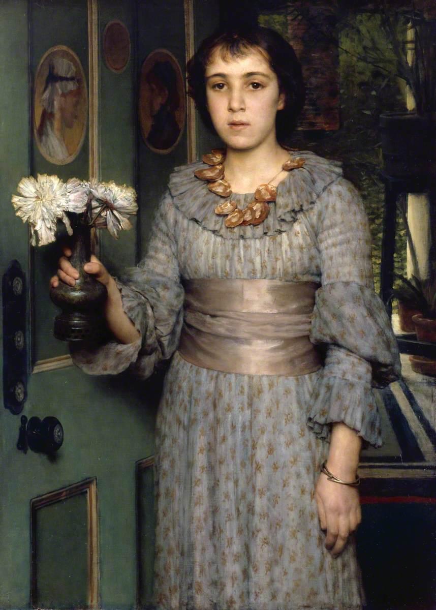 Alma-Tadema, Lawrence, 1836-1912; Miss Anna Alma-Tadema