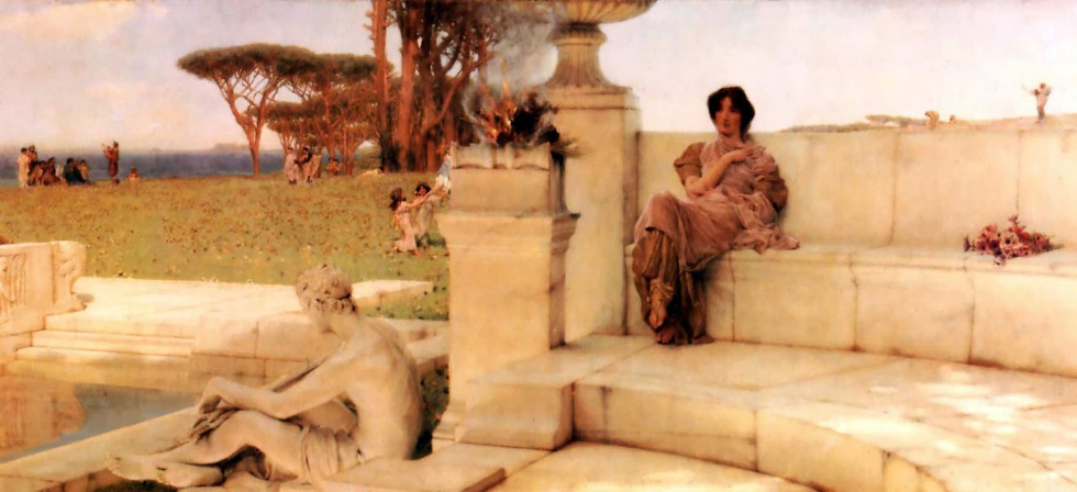 Sir Lawrence Alma-Tadema The Voice of Spring