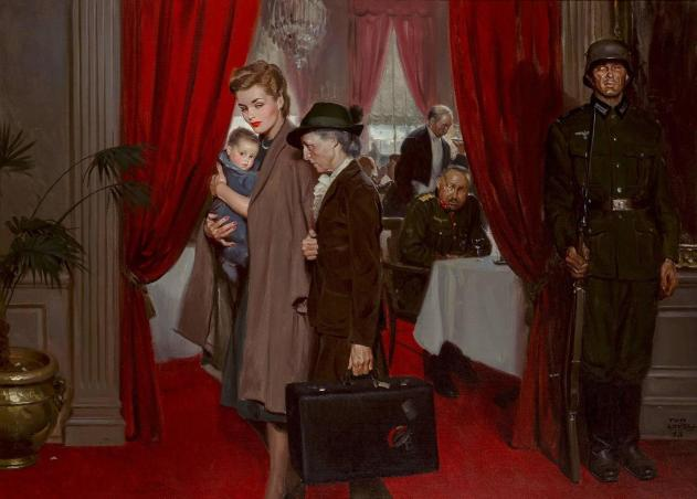 Tom Lovell The Occupation of Paris