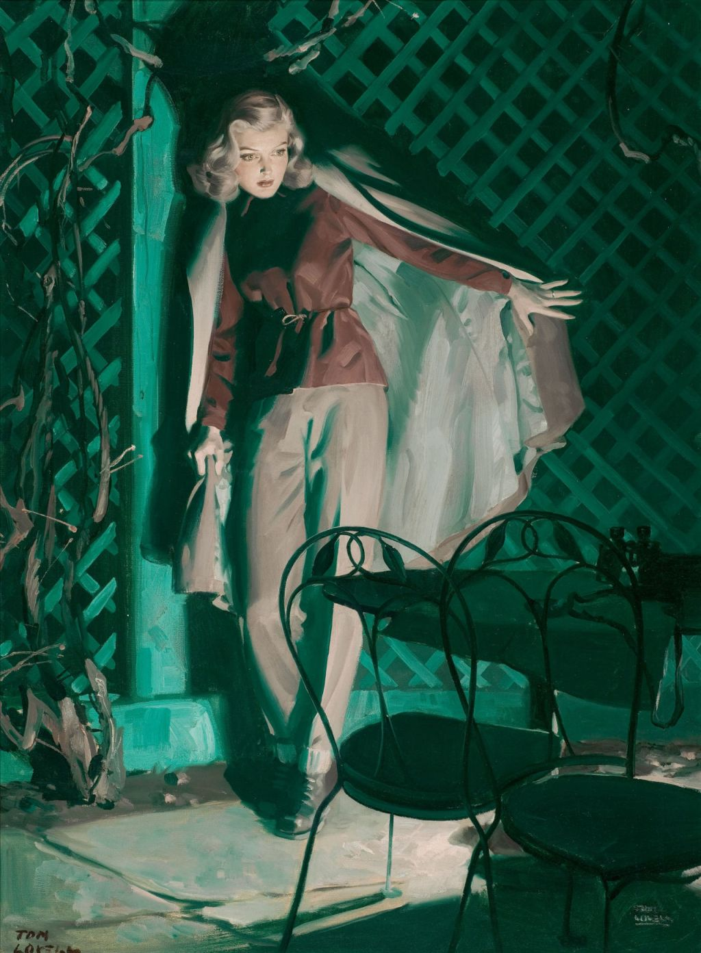 Art The Pulp Mysteries Of Tom Lovell Curiomancy Fantastic Art Fiction Curiosity