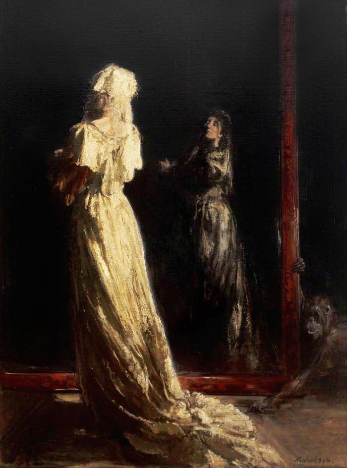 the black mirror - william newzam prior nicholson
