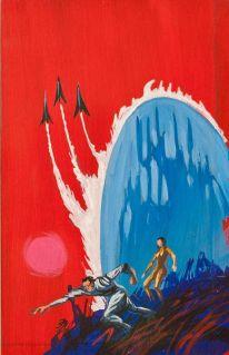 Jack Gaughan 73d0a15a909993b44fee3e2cee844fd1--rocket-tattoo-science-fiction-art