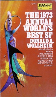Jack Gaughan the 1973 annual worlds best sf