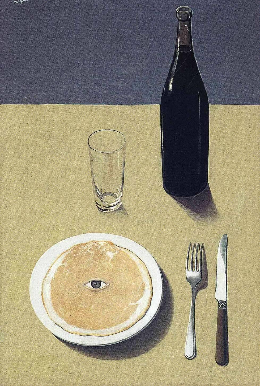 Portrait, 1935, Rene Magritte