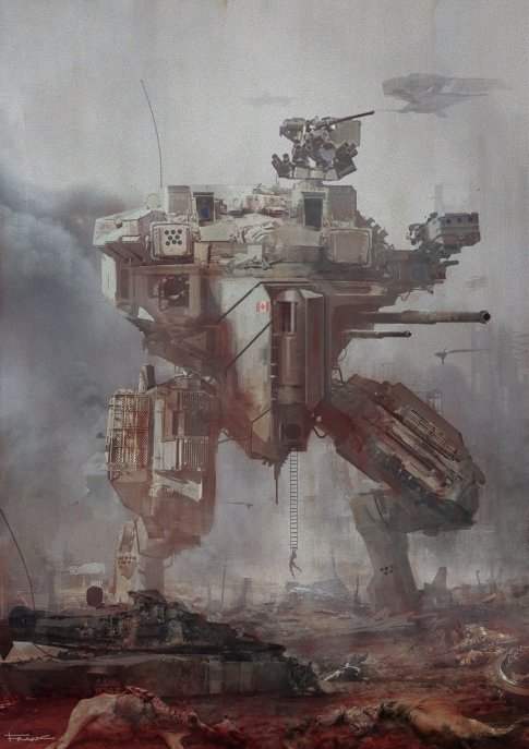 Mech 21 by Francesco Lorenzetti
