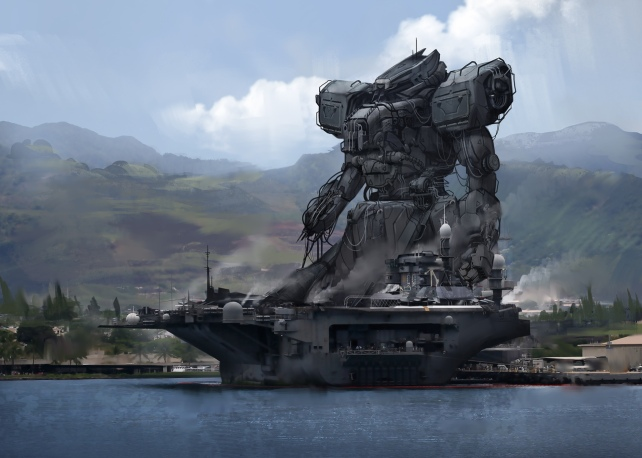 Mechaboat by jeffpaulsrud
