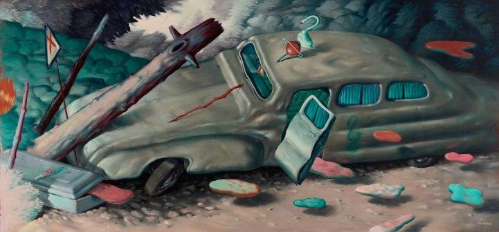 Ryan-Heshka-Chromatose-2018-oil-on-canvas-95x200-cm-x-homepage