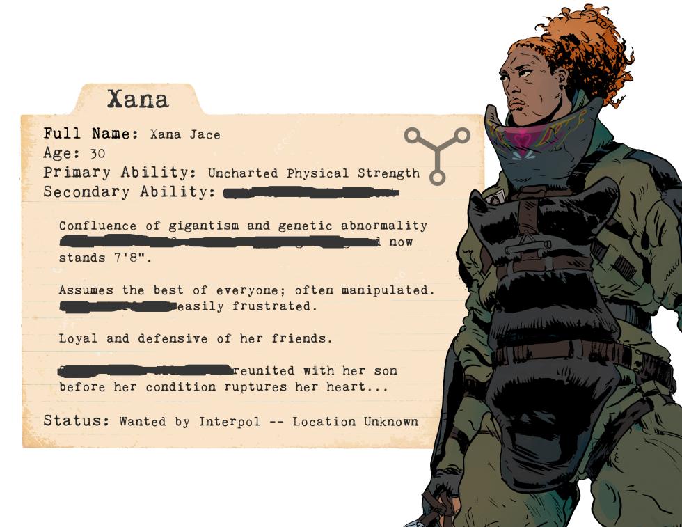 Xana Card (non-promo)
