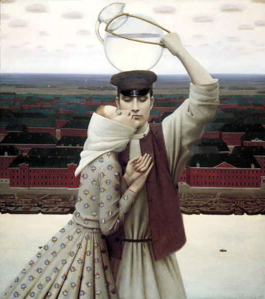 Andrey Remnev. The seller of lemonade