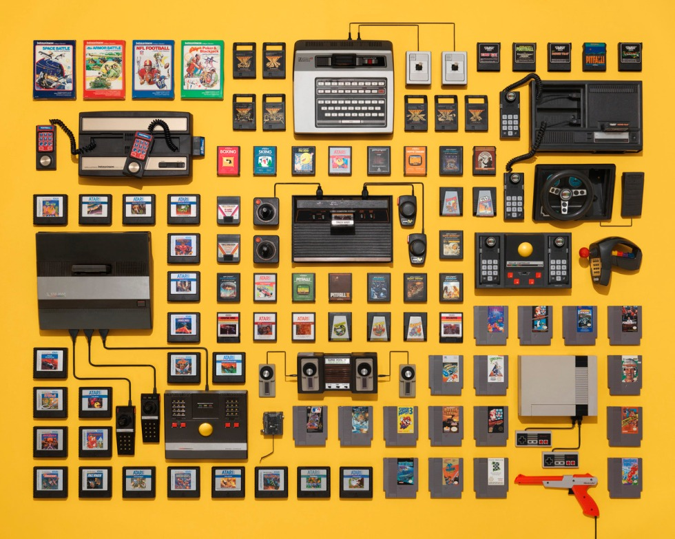 Classic-Videogame-Systems-by-Jim-Golden