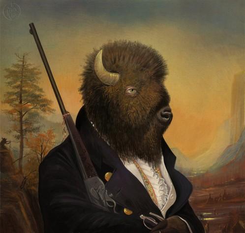 Bill Mayer-Buffalo-Soldier
