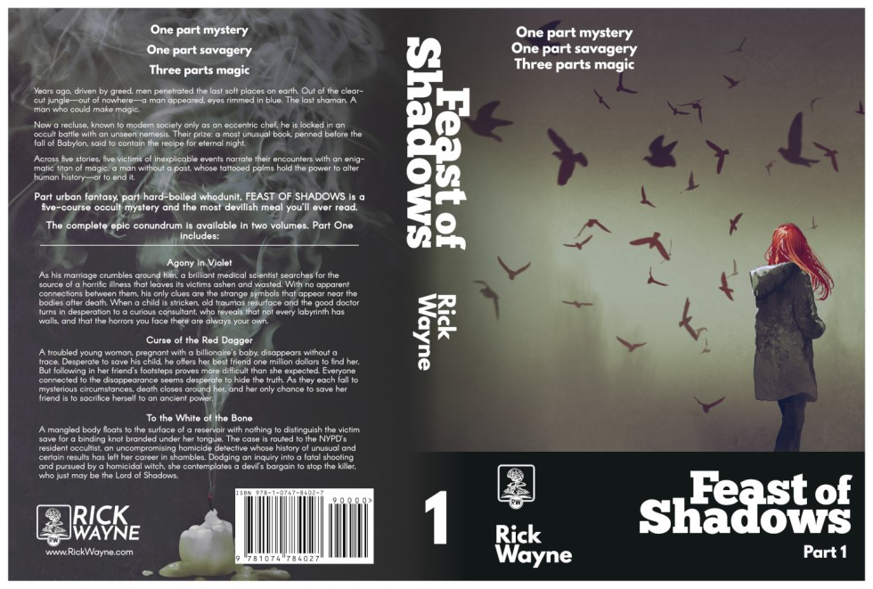 Feast of Shadows Wrap-around Print Cover