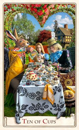 Ten of Cups Alice Tarot Baba Studio