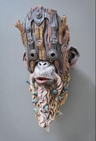 Wesley Wright -- ceramic sculpture