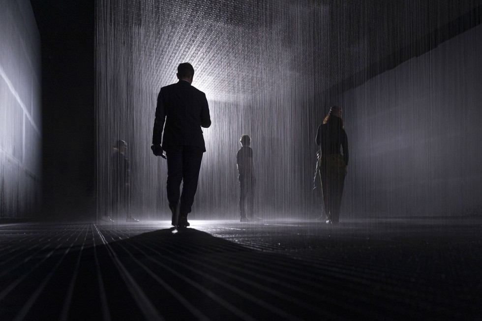 Rain Room Art Installation Preview