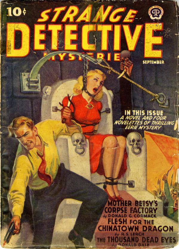 Strange Detective Stories cover