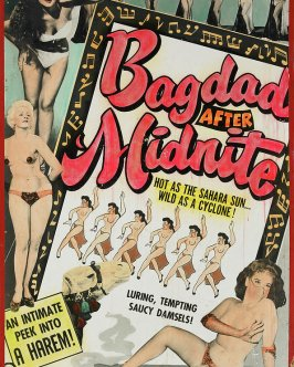 bagdad-after-midnite-burlesque-posters