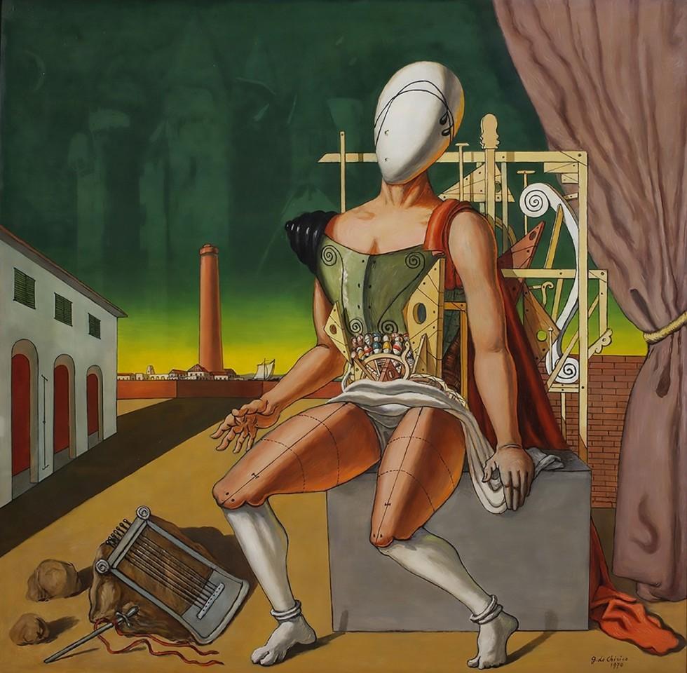 Giorgio de Chirico — The Mute Orpheus 1970
