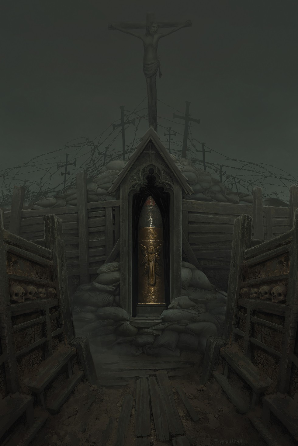mike-franchina-trench-shrine-2
