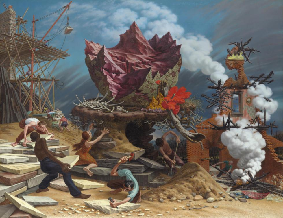 Peter Blume (1906-1992), The Rock, 1948
